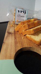 Dagverse cake van Albert Heijn glutenvrij en melkvrij