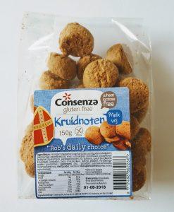 Glutenvrije en melkvrije kruidnoten van Consenza