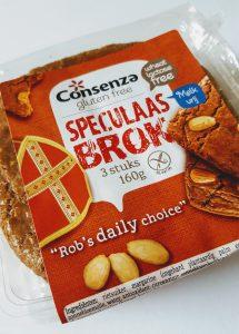 Glutenvrije en melkvrije speculaas van Consenza