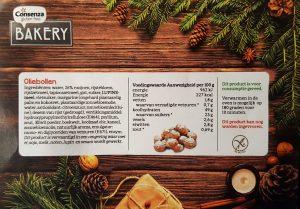 Ingredienten Consenza oliebollen