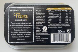 Ingredienten flora melkvrije boter