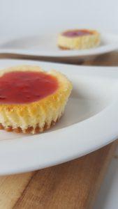 Koemelkvrije en glutenvrije cheesecake